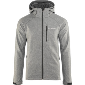 Columbia Cascade Ridge II Chaqueta Softshell Hombre, charcoal heather